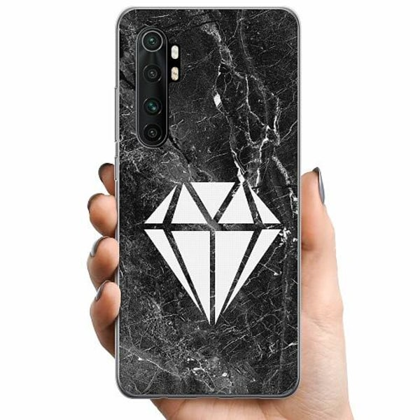 Xiaomi Mi Note 10 Lite TPU Mobilskal Diamond
