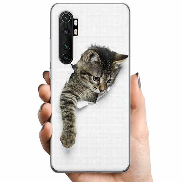 Xiaomi Mi Note 10 Lite TPU Mobilskal Katt