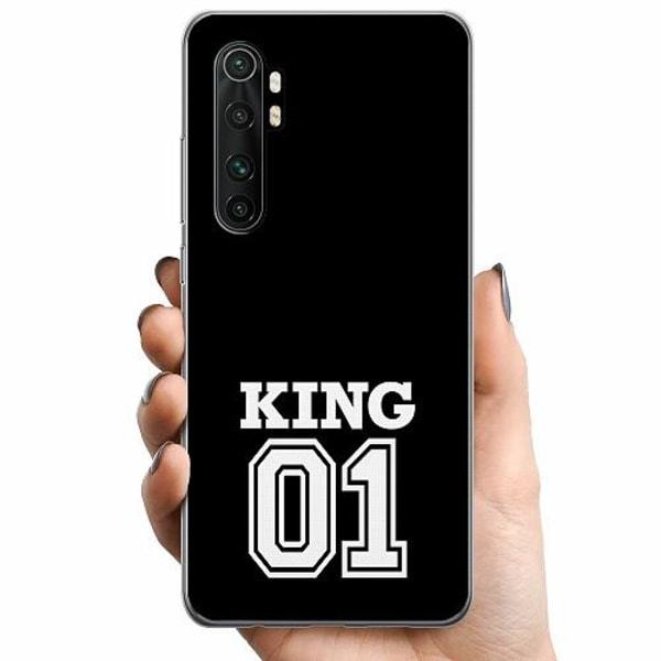 Xiaomi Mi Note 10 Lite TPU Mobilskal King 01