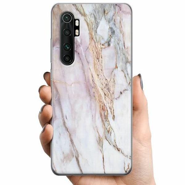Xiaomi Mi Note 10 Lite TPU Mobilskal Marmor