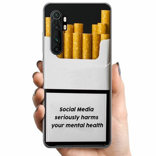 Xiaomi Mi Note 10 Lite TPU Mobilskal Social Media Harms...