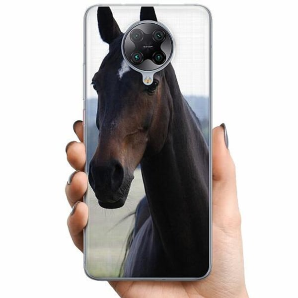 Xiaomi Poco F2 Pro TPU Mobilskal Häst / Horse