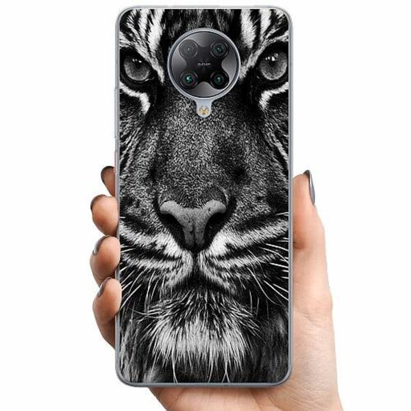 Xiaomi Poco F2 Pro TPU Mobilskal Tiger