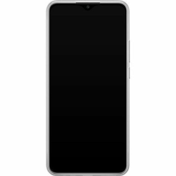 Xiaomi Redmi 9 Mjukt skal - Gold & Glitter