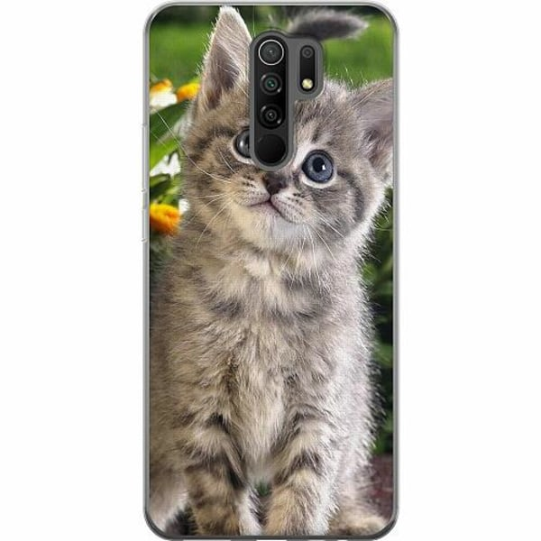 Xiaomi Redmi 9 Mjukt skal - Cat
