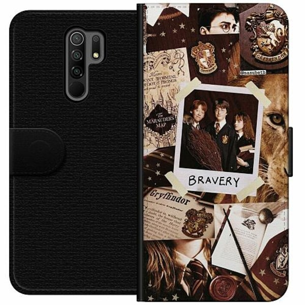 Xiaomi Redmi 9 Wallet Case Harry Potter