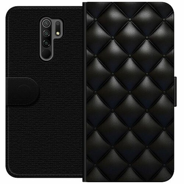 Xiaomi Redmi 9 Wallet Case Leather Black