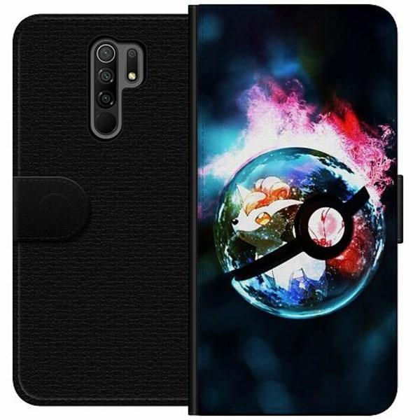 Xiaomi Redmi 9 Wallet Case Pokémon GO