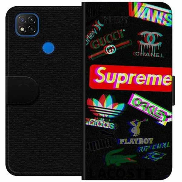 Xiaomi Redmi 9C Wallet Case 3D