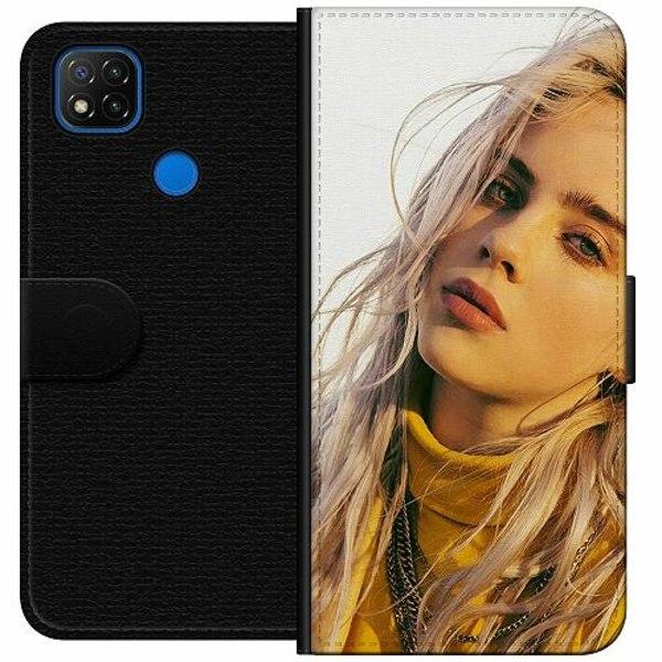 Xiaomi Redmi 9C Wallet Case Billie Eilish 2021
