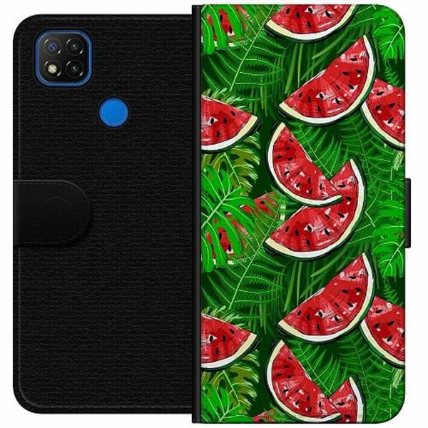Xiaomi Redmi 9C Wallet Case Bushy Melons