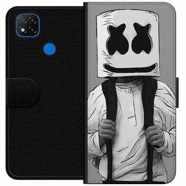 Xiaomi Redmi 9C Wallet Case Fortnite Marshmello