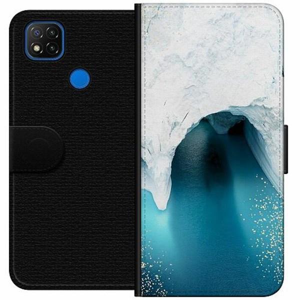 Xiaomi Redmi 9C Wallet Case Glacier