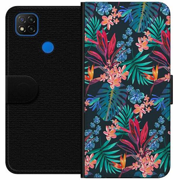 Xiaomi Redmi 9C Wallet Case Jungle Vibe