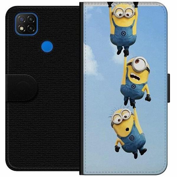 Xiaomi Redmi 9C Wallet Case Minions