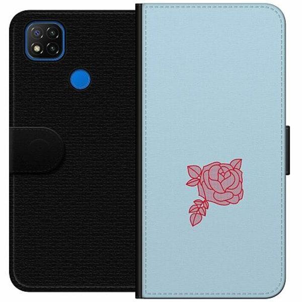 Xiaomi Redmi 9C Wallet Case Rose