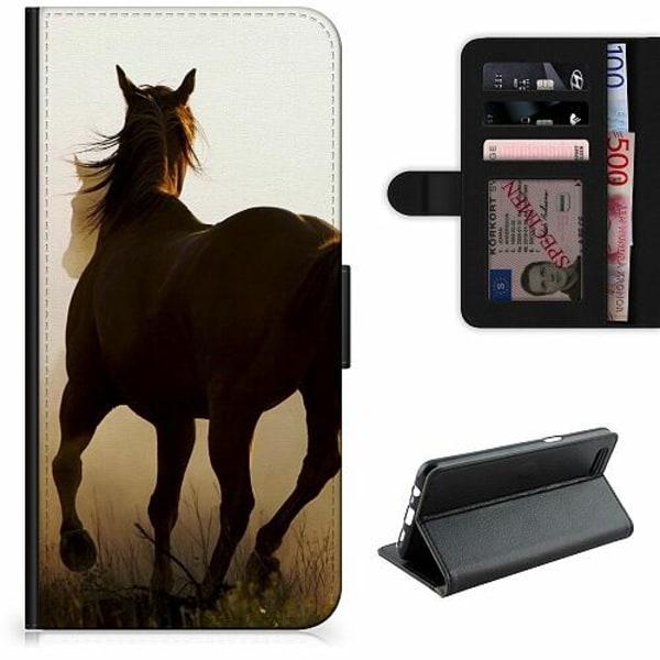 Xiaomi Redmi Note 9 Lyxigt Fodral Häst / Horse