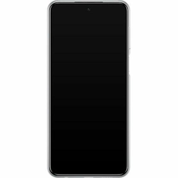 Xiaomi Redmi Note 9 Pro Mjukt skal - Blue Flower