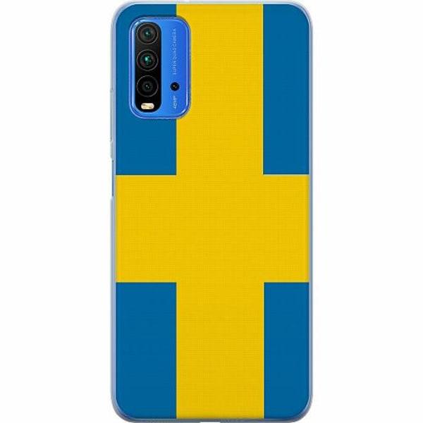 Xiaomi Redmi Note 9T TPU Mobilskal Heja Sverige / Sweden