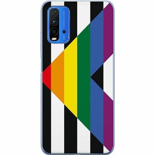 Xiaomi Redmi Note 9T TPU Mobilskal Pride - Straight Ally