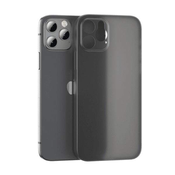 Benks iPhone 12 Pro Tunt TPU Skal Svart