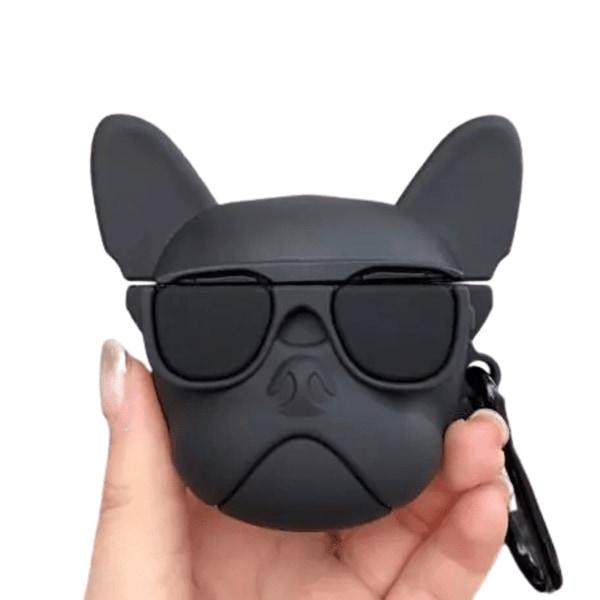 AirPods Fodral i Silikon Puppy svart