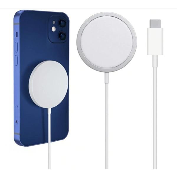 Magnetisk Trådlös iPhone Magsafe 15W Snabbladdare