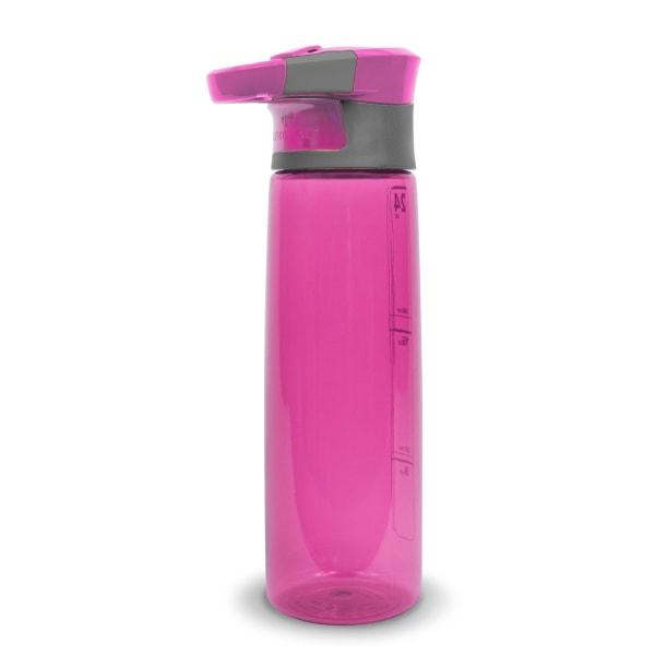 No1 Contigo Vattenflaska med karbinhake Rosa Rosa
