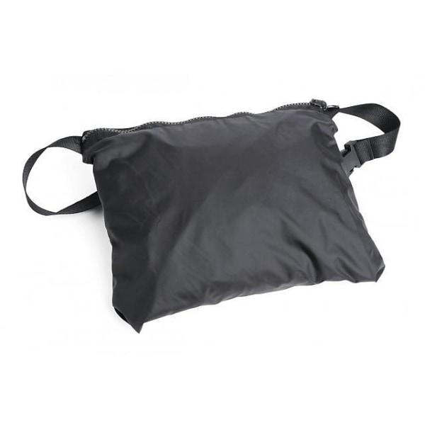 No1 Regnjacka Vindjacka Jacka Svart med väska Vikt 260 g