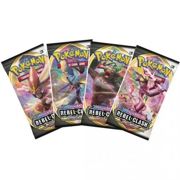 Pokemon - Sword & Shield 2 Rebel Clash - 3st Booster Paket