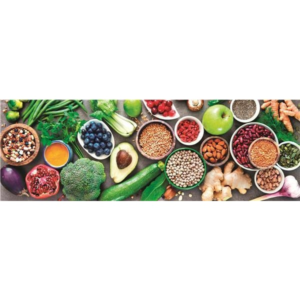 Clementoni High Quality Collection - Panorama Healthy Veggie (10