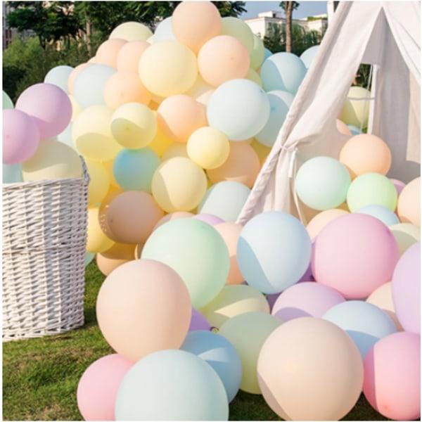 Latexballonger Pastell 25-pack, 30cm MIX