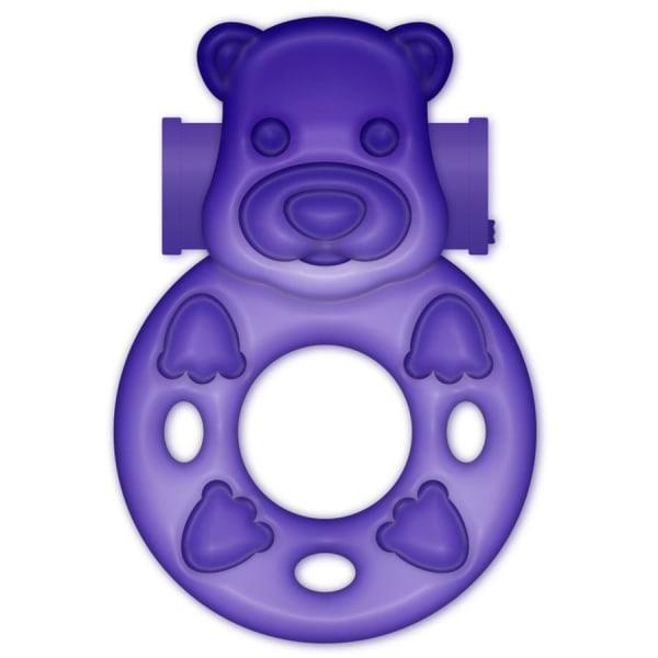 Casual Love Ring Purple Bunny - Lila Vibrerande Penisring Lila one size