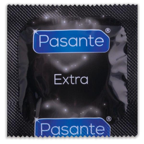 Pasante Extra Kondom 8-pack Transparent