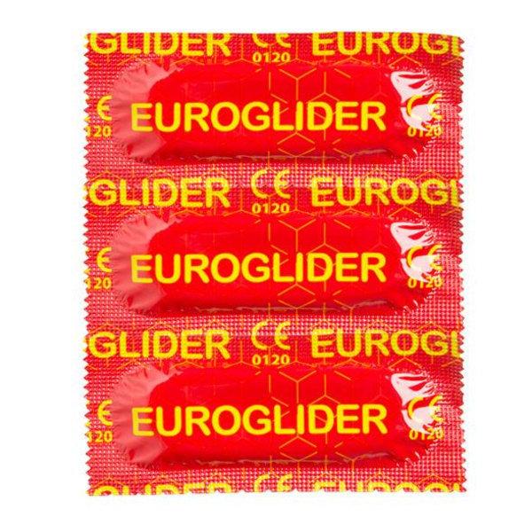 EUROGLIDER Kondom 18-pack Transparent