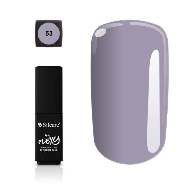 Gellack - Flexy - * 53 4,5 g UV -gel / LED Light purple