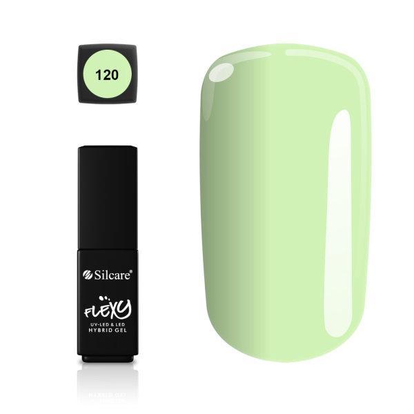 Gellack - Flexy - * 120 4,5 g UV -geeli / LED Green