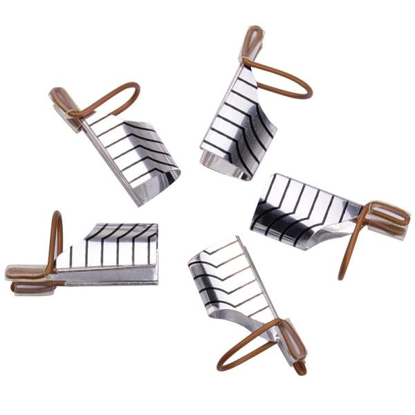 5st nagelmallar i metall nagelformar nagelform nagelmall