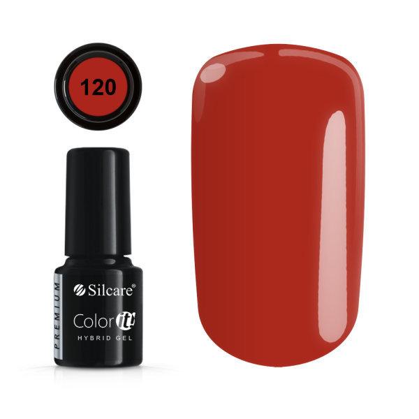 Gellack - Color IT - Premium - * 120 UV gel / LED Red