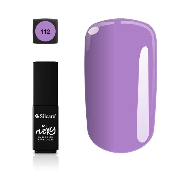 Gellack - Flexy - * 112 4,5 g UV -geeli / LED Purple