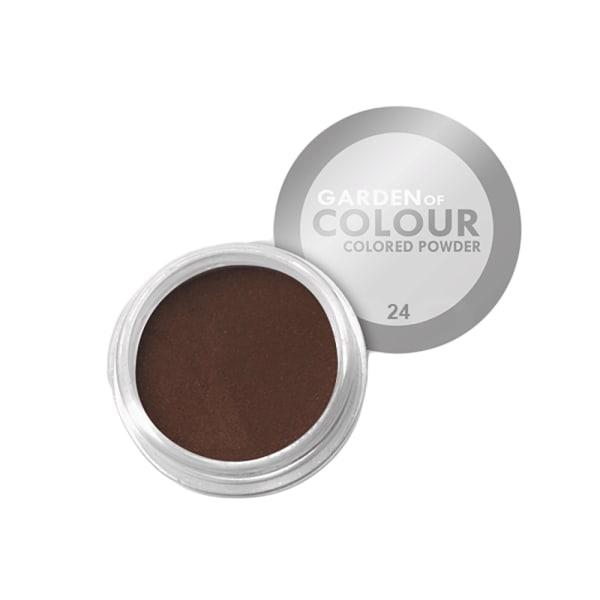 Farvehave - Farvet pulver - NR 24 4g Akrylpulver