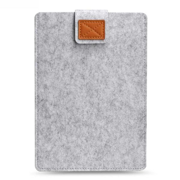 Datasæske 13 -tommer, Passer til MacBook Pro og air - Ærmet uldtæppe Light grey