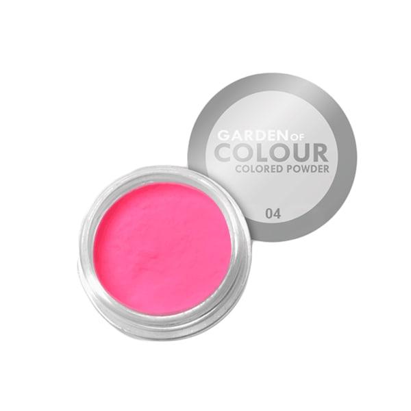 Farvehave - Farvet pulver - NR 04 4g Akrylpulver