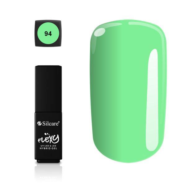 Gellack - Flexy - * 94 4,5 g UV -gel / LED Green