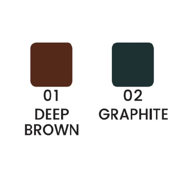 Ögonbrynspenna - Svart / Brun - Eye brow pencil Graphite - Svart