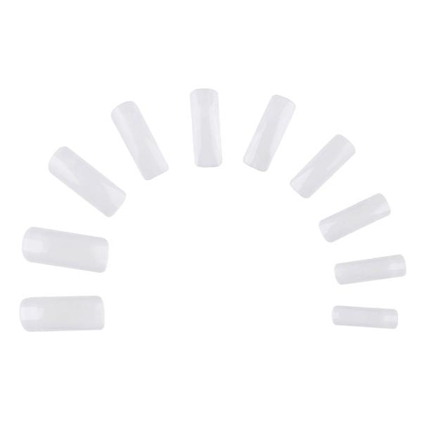 500st nageltippar clear lösnaglar akryl tippar