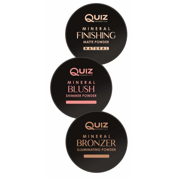 Mineral powder collection - Loose power - Quiz Cosmetics Blush - Shimmer powder