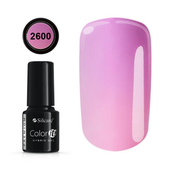 Gellack - Color IT - Premium - Thermo - * 2600 UV gel / LED Pink
