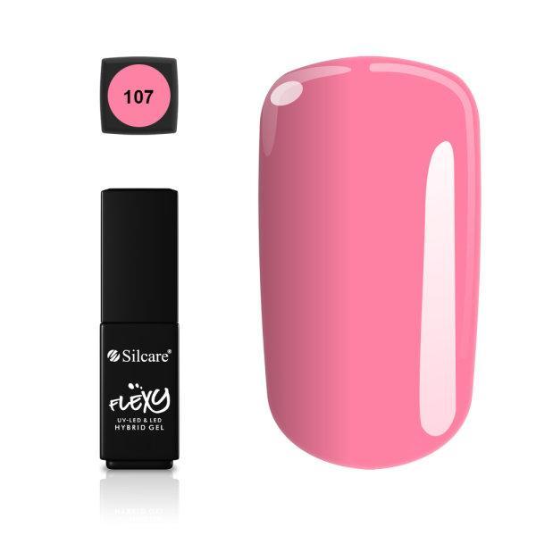Gellack - Flexy - * 107 4,5 g UV -geeli / LED Pink