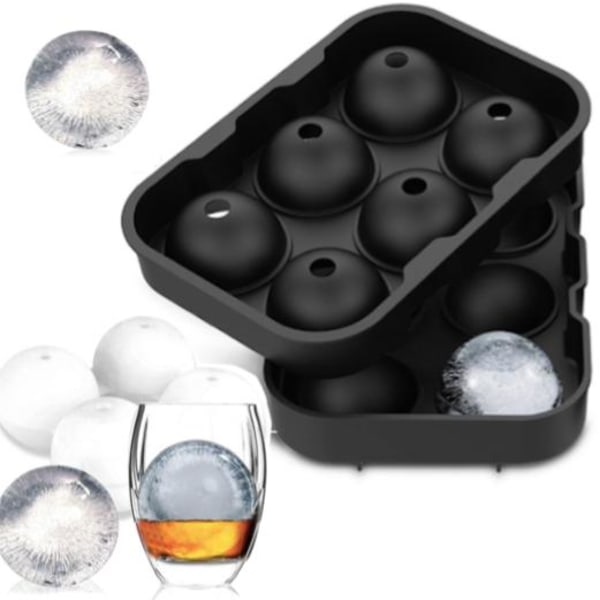 Jää / suklaa / hyytelömuotoiset pallot - jääpalloja / jääpalloja / palloja